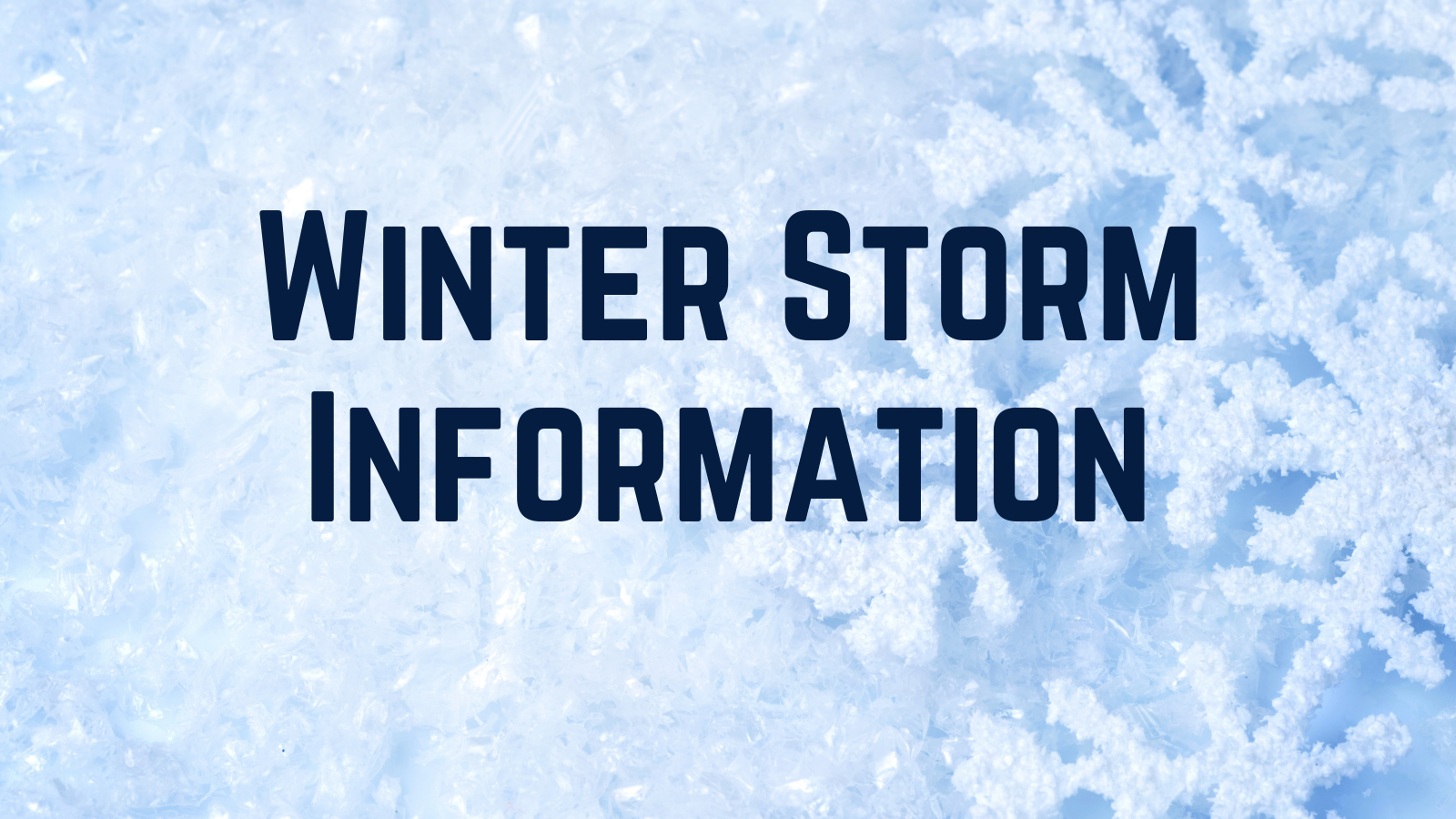 FPS: Winter Storm Update: Storm still in process, decision Tuesday about 5:30 AM