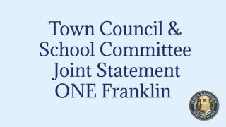 Joint Statement One Franklin