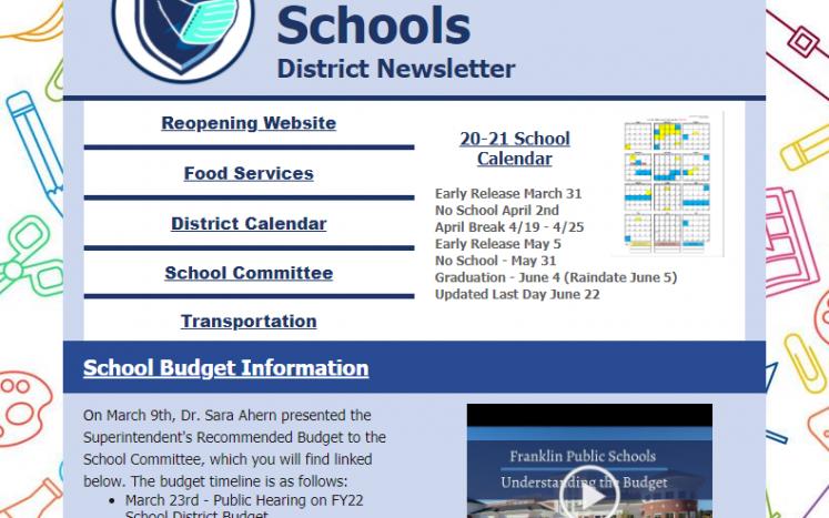 March E-Newsletter