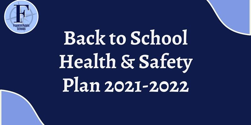 Back to school Health and Safety Plan 21-22