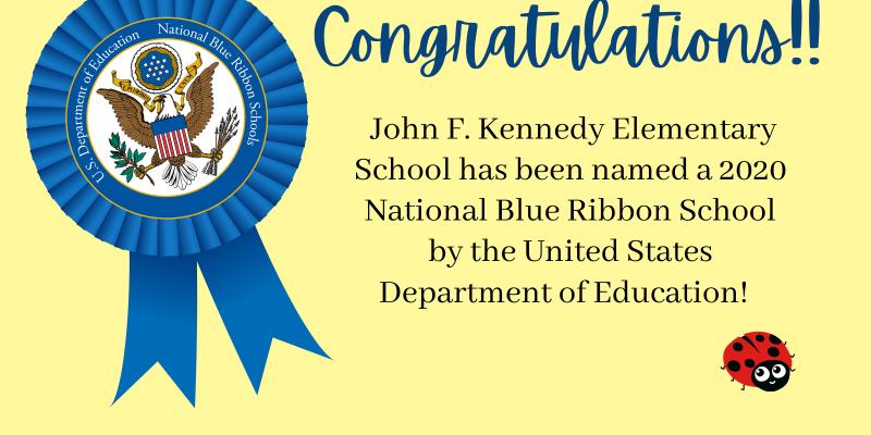 JFK named Blue Ribbon School